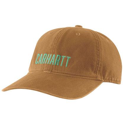 Carhartt Workwear 104188 Odessa Graphic Cap in carhartt braun