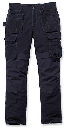 Carhartt Workwear 103337 Steel Multi Pocket Trousers Stretch Arbeitshose mit Holstertaschen in navy blau