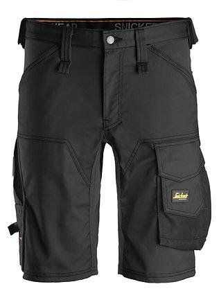 Snickers Workwear 6143 AllroundWork Stretch Shorts, schwarz