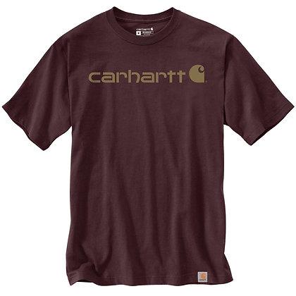 Carhartt Workwear 103361 Core Logo T-Shirt in port