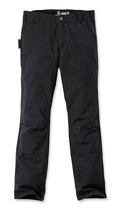 Carhartt Workwear 103340 Stretch Duck Double Front Arbeitshose in schwarz