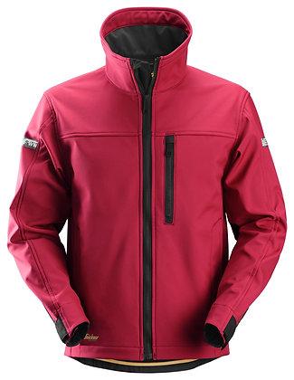 Snickers Workwear 1200 AllroundWork Softshell Arbeitsjacke in rot