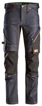 Snickers Workwear 6956 FlexiWork Denim Stretch Arbeitshose in Jeansoptik