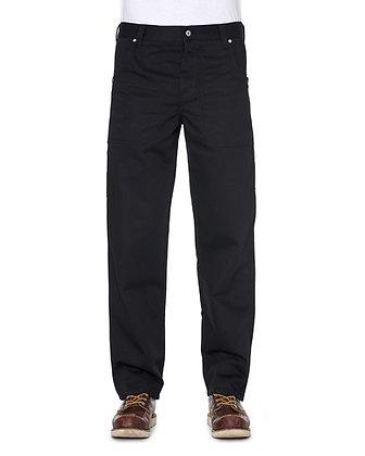 De Palma Hines Service Pant in der Farbe schwarz. Moderne und coole Arbeitshose aus robustem Mischgewebe.
