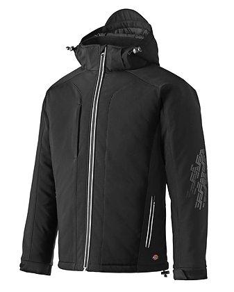 Dickies Workwear Winter Softshell Jacke in schwarz