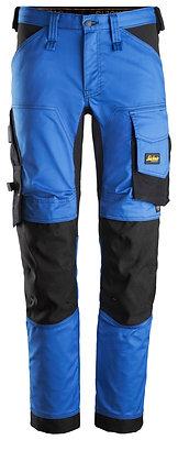 Snickers Workwear 6341 AllroundWork Stretch Arbeitshose in blau-schwarz
