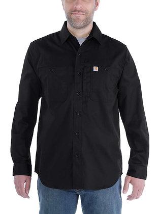 Carhartt Workwear 102538 Rugged Professional Shirt Hemd in schwarz