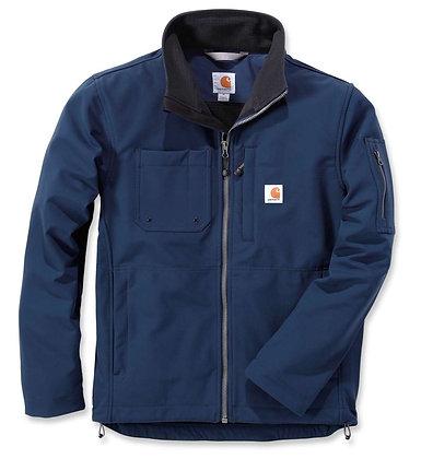 Carhartt Workwear 102703 Rough Cut Jacket Softshelljacke in navy blau
