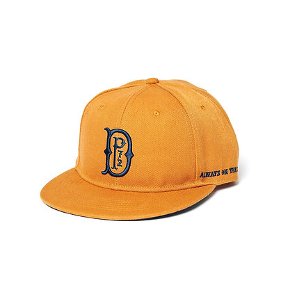 De Palma Pitcher Snapback Cap in tobacco.
