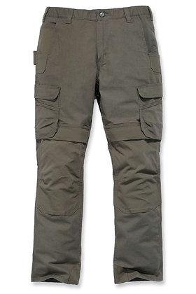 Carhartt Workwear 103335 Steel Cargo Stretch Arbeitshose in tarmac grün braun