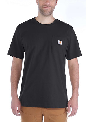 Carhartt Workwear 103296 K87 Pocket T-Shirt in schwarz