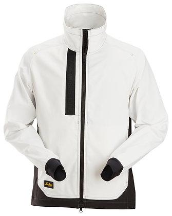 Snickers Workwear 1549 AllroundWork ungefütterte leichte Arbeitsjacke in weiß