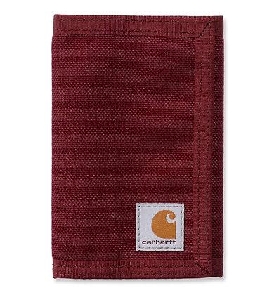 Carhartt 61-2319 Extremes Trifold Wallet Geldbeutel aus CORDURA® in weinrot