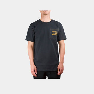 Carhartt Workwear Logo T-Shirt schwarz
