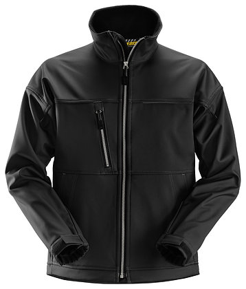 Snickers Workwear 1211 Profil Softshelljacke in schwarz