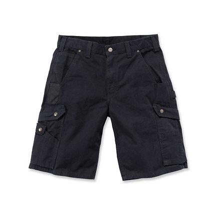 Carhartt Workwear B357 Ripstop Cargo Work Shorts in der Farbe schwarz