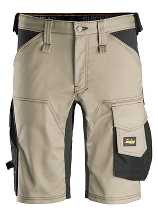 Snickers Workwear 6143 AllroundWork Stretch Shorts khaki