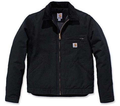 Carhartt Workwear 103828 Duck Detroit Jacket EJ001 in schwarz