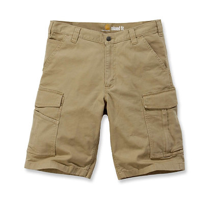 Carhartt 103542 Rigby Rugged Cargo Shorts in khaki