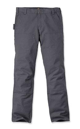 Carhartt Workwear 103340 Stretch Duck Double Front Arbeitshose in grau