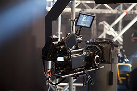 A film camera.