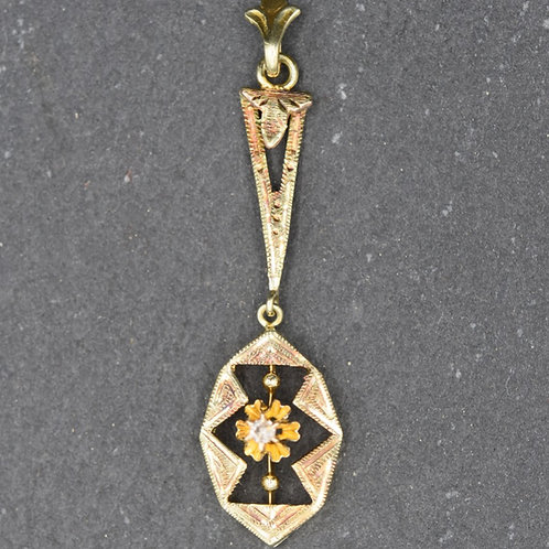 Antique Lavaliere with Diamond