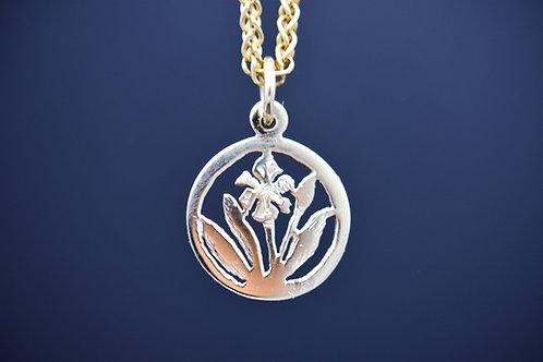 Wild Iris Pendant