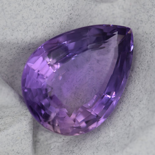 Large Pear-shaped Amethyst