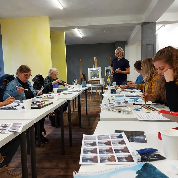 Intro to Landscape Painting with Paul Freeman