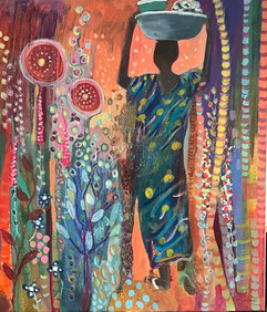 Angela Bell To The Market £350