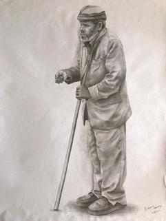 Birhanu   Manaye The Blind Old Man £300