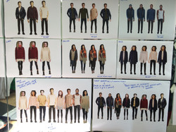 developing costume designs