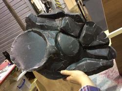 constructing head