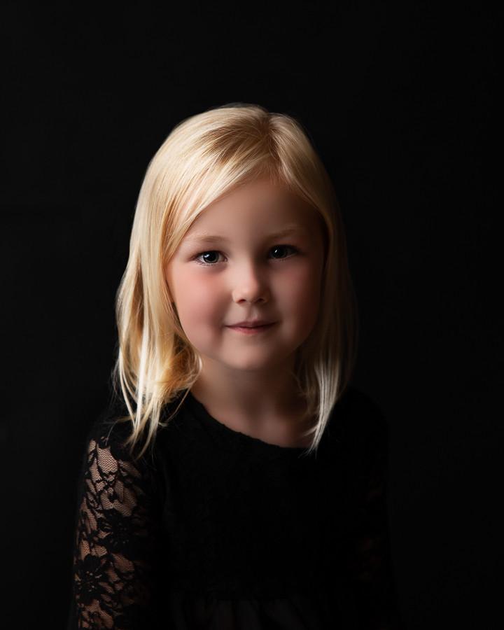 fine art kids portret rembrandt