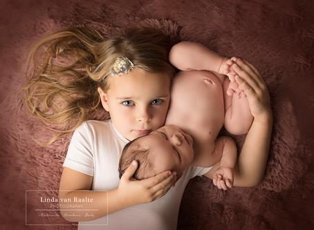 Newbornsessie met broer of zus?