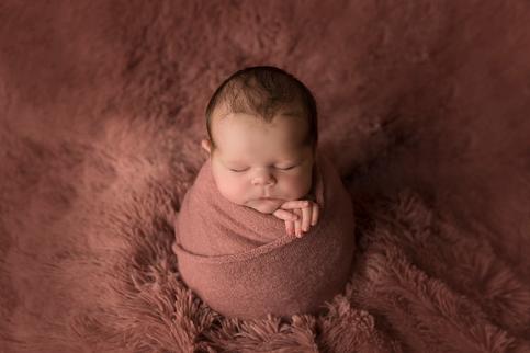 Newborn in wrap