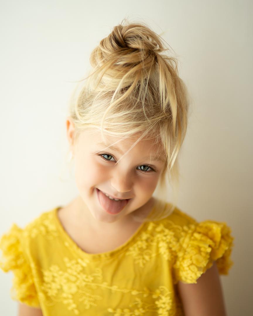 Fris kinderportret daglicht fine art