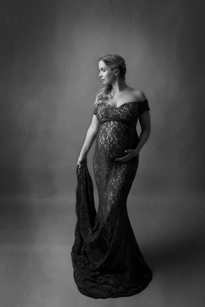 fine art maternity portret