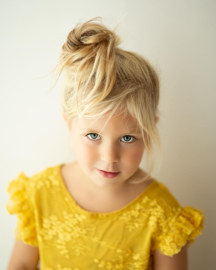 Fris kinderportret daglicht