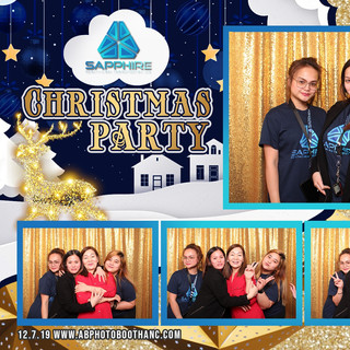 Sapphire Christmas Party