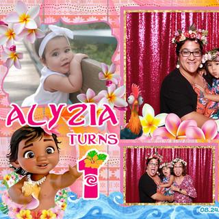 Alyzia's First Birthday