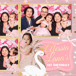 Alessia Lana's First Birthday
