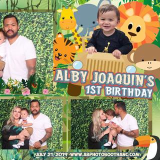 Alby's 1st Birthday