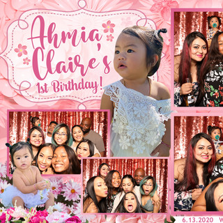 Ahmia's First Birthday