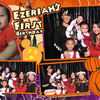 Ezeriah's 1st Birthday