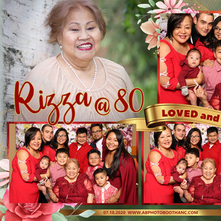 Rizza's 80th