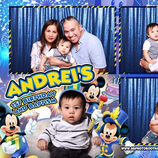 Andrei's First Birthday & Christening