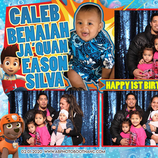 Caleb's 1st Birthday