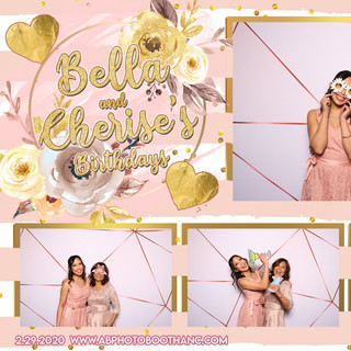 Bella and Cherise's Birthday