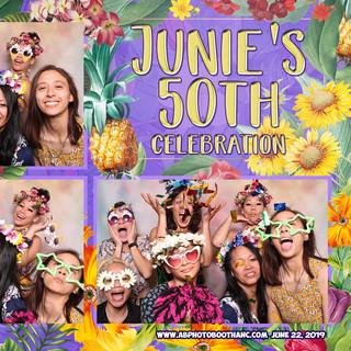 Junie's 50th Celebration